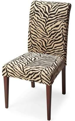 Butler Specialty Company Butler Loft Jungle Zebra Print Parsons Chair