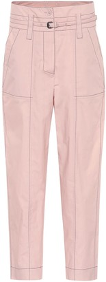 Bottega Veneta High-waisted cotton pants