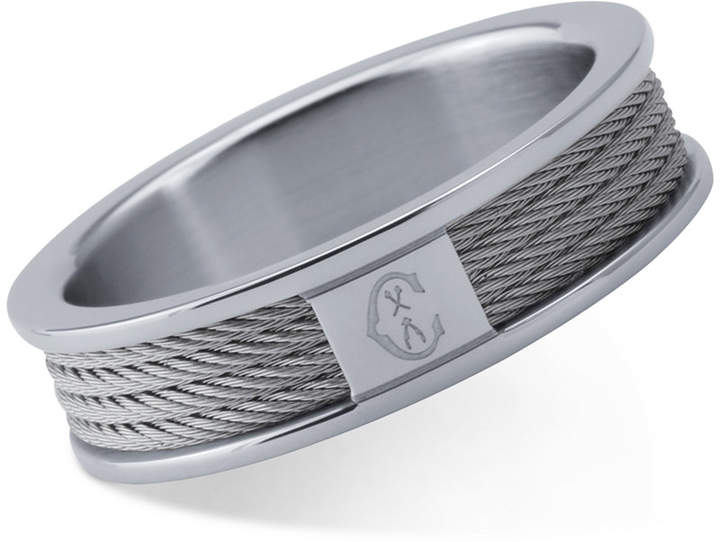 CharriolCHARRIOL Women's Forever Stainless Steel Cable Ring
