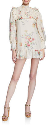LoveShackFancy Saffron Silk Dress