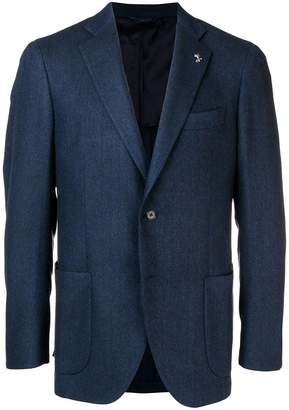 Tombolini tailored single-breasted blazer