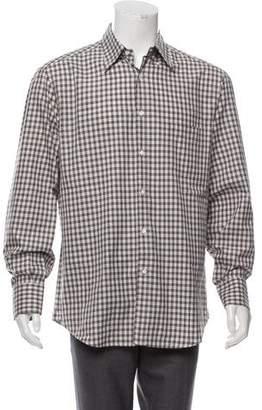 Brunello Cucinelli Plaid Casual Shirt