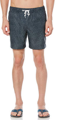 Original Penguin CROSSHATCH VOLLEY SWIM TRUNK