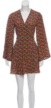 A.L.C. Silk Mini Wrap Dress w/ Tags