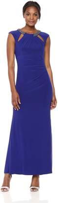 Eliza J Women's Gown with Cutout Neckline