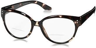 Peepers Unisex-Adult Maxine Bifocal 250300 Oval Reading Glasses