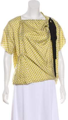 Marni Silk Printed Top
