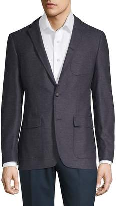 John Varvatos Men's Hery Wool & Cashmere Suit Jacket