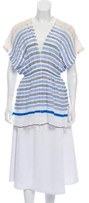 Lemlem Striped Short-Sleeve Top