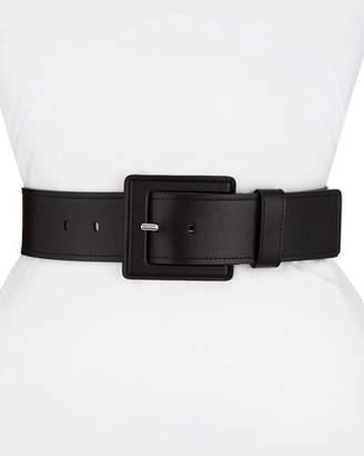 Michael Kors Wide Calfskin Leather Wrap Belt