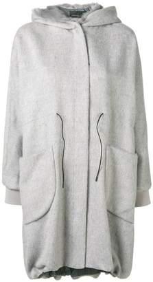 Fabiana Filippi fur lined hooded parka