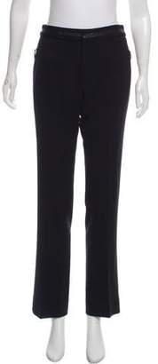 Ralph Lauren Black Label Mid-Rise Wool Pants