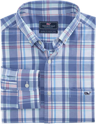 Vineyard Vines Otter Rock Plaid Classic Performance Cotton Tucker Shirt