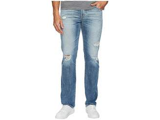 AG Adriano Goldschmied Matchbox Slim Straight Led Denim in 21 Years Blue Isle Men's Jeans