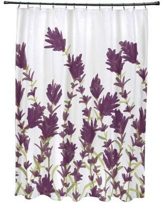 Shower Curtains Floral Purple Shopstyle