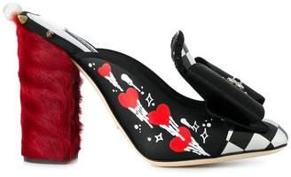 Dolce & Gabbana embellished mules