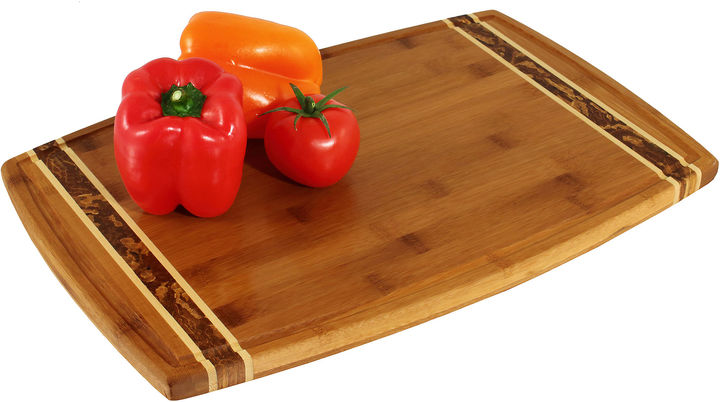 Totally Bamboo 18 Marbled Cutting Board