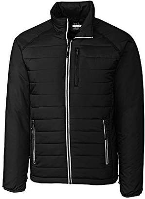 Cutter & Buck Men's Big and Tall B&t Spark Systems Packable Barlow Pass Quilted Jacket