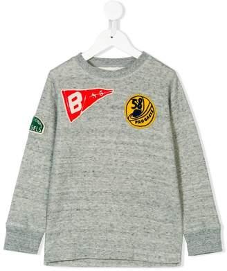 Bellerose Kids patch detail sweatshirt