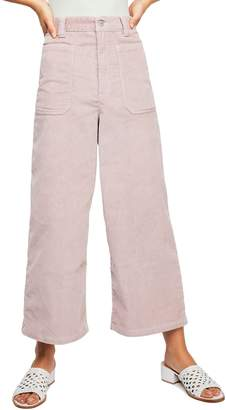 Free People Dawn to Dusk Crop Corduroy Pants