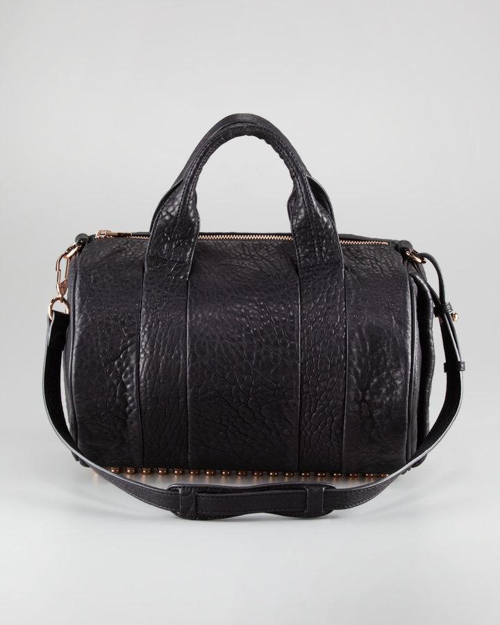 Alexander Wang Rocco Leather Satchel Bag