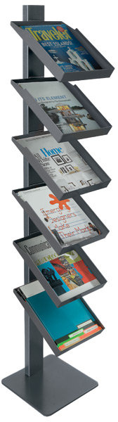 Freestanding Magazine Rack