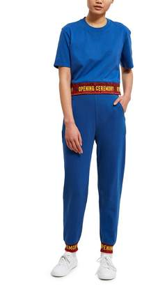 Opening Ceremony Elastic Logo Fitted Sweatpant