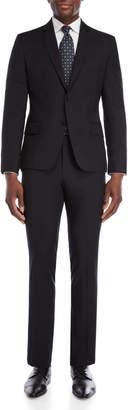 Roberto Cavalli Black Slim Fit Two-Piece Suit