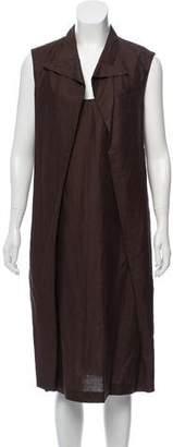 Hermes Linen Midi Dress