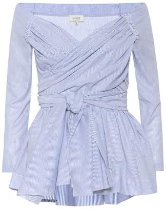 Isa Arfen Cotton wrap top