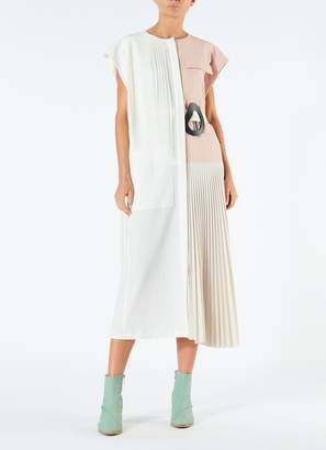 Tibi Edith Pleating Dress
