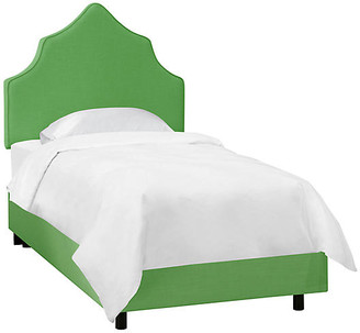 One Kings Lane Camille Kids' Bed - Green Linen