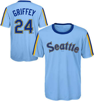 Outerstuff Ken Griffey Jr. Seattle Mariners Coop Poly Player T-Shirt, Big Boys (8-20)