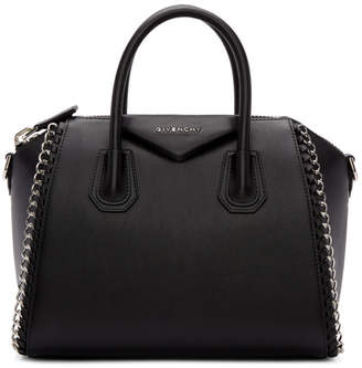 Givenchy Black Small Chain Antigona Bag