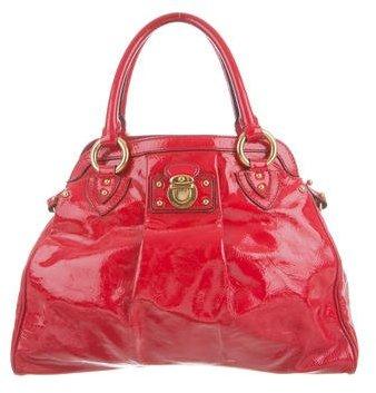 Marc JacobsMarc Jacobs Patent Leather Satchel Bag