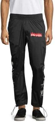 Palm Angels Graphic Cordlock Pants