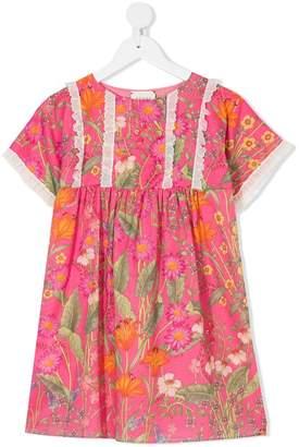 Gucci Kids frill design dress