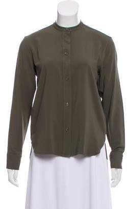 Helmut Lang Long Sleeve Button-Up Top