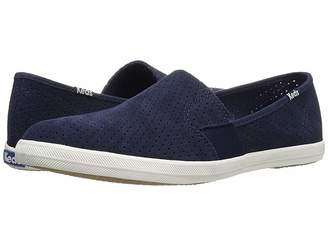 Keds Chillax A-Line Perforated Suede Women's Slip on Shoes