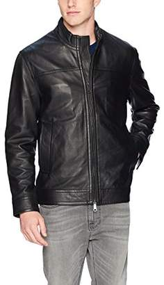 Robert Graham Men's Napoleon 2 Leather Jacket