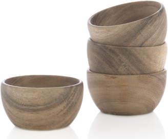 Lulu & Georgia Tempest Snack Bowls, Natural (Set of 4)