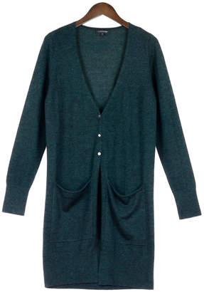 Cashmerism Forest Green Super-Fine Cashmere Long Cardigan