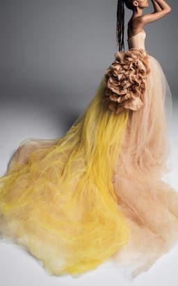 Vera Wang Nastasiya Strapless Ballgown