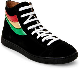Marc Jacobs Black Lace-Up Sneakers