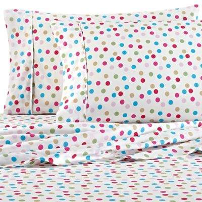 VCNY home VCNY Cupcake World Full Sheet Set in Pink/Blue