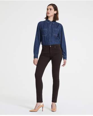 AG Jeans The Prima - Shutter Brown