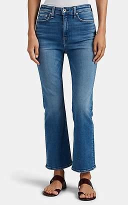 Rag & Bone Women's Nina High-Rise Ankle Flare Jeans - Blue
