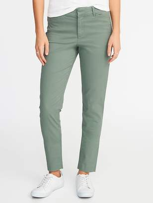 Old Navy Mid-Rise Pixie Chino Ankle Pants for Women