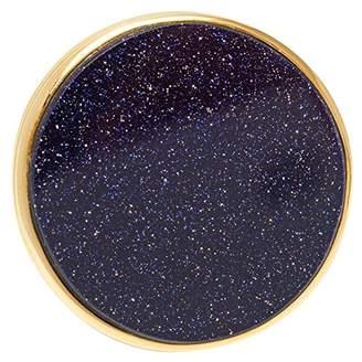 Lola Rose Garbo Circle Blue Sandstone Ring - Size Small