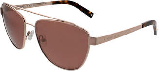 KENDALL + KYLIE Lexi Teacup Aviator Sunglasses